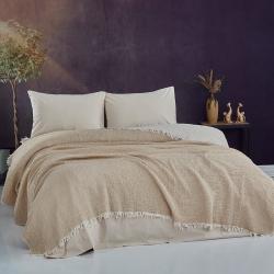 Bol Kesim Pamuklu Bluz Kırmızı